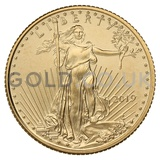 Tenth Ounce American Eagle Gold Coin (2019)