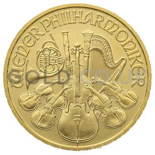 Gold Philharmonic Quarter Ounce Coin (2019)
