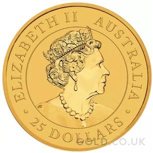 Gold Nugget Quarter Ounce (2021)