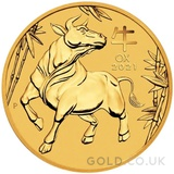 Gold Perth Mint Year of the Ox 1oz (2021)