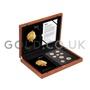 Gold Proof Fifth Circulating UK Coinage Portrait Boxed Set (2015)