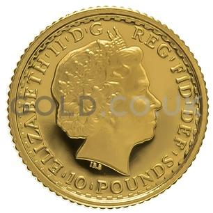 2003 Tenth Ounce Proof Britannia