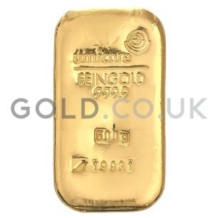 500g Umicore Gold Bar