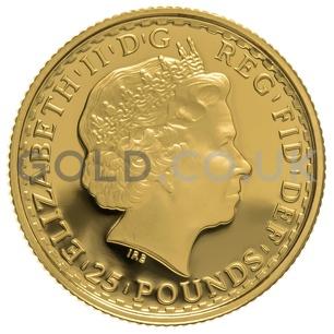 2011 Quarter Ounce Proof Britannia