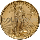2002 1/10 oz Gold America Eagle