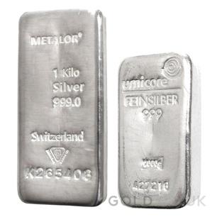 1kg Silver Bar (Best Value)