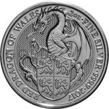 2oz Silver Coin - The Red Dragon