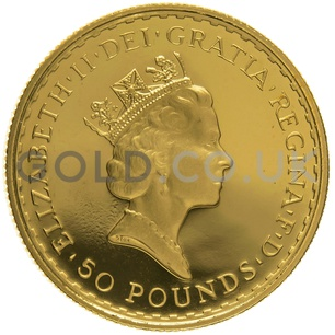 1995 Half Ounce Proof Britannia