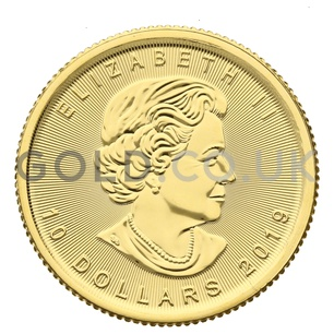 Quarter Ounce Gold Maple (2019)