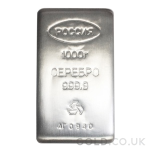 1 Kilo Prioksky Silver Bar