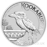 Silver Kookaburra 10oz (2022)
