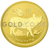 Gold Perth Mint Year of the Pig 1oz (2019)