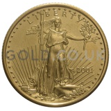 2001 1/4 oz Gold America Eagle