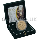 Gold Brilliant Uncirculated Five Pound Coin Boxed - 2006