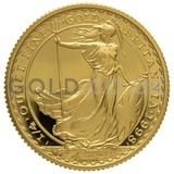 1998 Quarter Ounce Proof Britannia