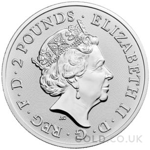 Silver 1oz Robin Hood Coin (2021)
