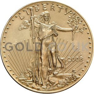 2008 1 oz Gold America Eagle