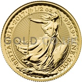Britannia Half Ounce Gold Coin (2017)