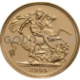 2004 Elizabeth II Fourth Head Gold Sovereign
