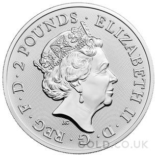 Maid Marian 1oz Silver Coin (2022)
