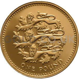 One Pound Gold Coin