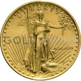 1989 1/4 oz Gold America Eagle