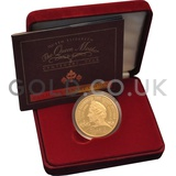 Gold Proof Five Pound - Queen Mother Coin (2000)