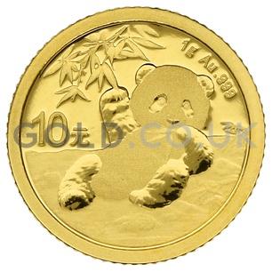 Gold Panda 1 gram (2020)