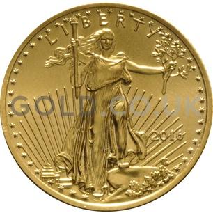 2016 1/4 oz Gold America Eagle
