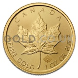 Gold Maple 1oz (2018)