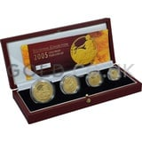 Proof Gold Britannia 4-Coin Box Set (2005)