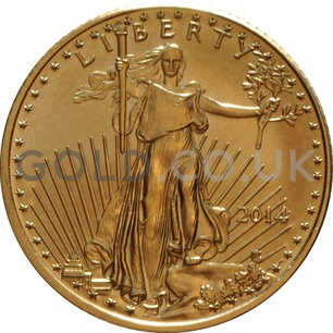 2014 1/10 oz Gold America Eagle