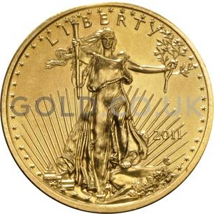 2011 1/4 oz Gold America Eagle