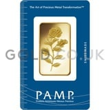 1oz PAMP Rosa Gold Bar