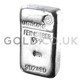 500g Umicore Silver Bars