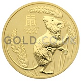 Gold Perth Mint Year of the Mouse 2oz (2020)