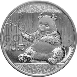 Silver Panda 30g (2018)