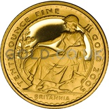 2005 Tenth Ounce Proof Britannia
