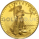 Gold Proof American Eagle 1oz Coin (1986)