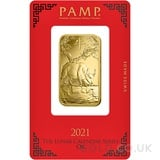 1oz PAMP Gold Year of the Ox (2021)