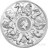 Silver 1 Kilo Queen's Beast Completer Coin (2021)