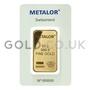 50g Metalor Gold Bar