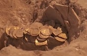 Israeli archaeological dig discovers gold coin hoard