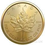 Half Ounce Gold Maple (2021)