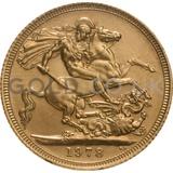 Gold Elizabeth II Sovereign (1978)