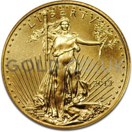 2013 1/10 oz Gold America Eagle