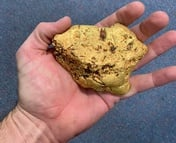 Veteran hobbyist finds 1.4kg gold nugget in Western Australia