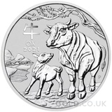Silver Perth Mint Year of the Ox 1KG (2021)