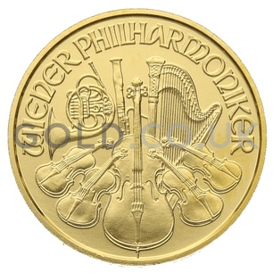 Gold Philharmonic Tenth Ounce Coin (2019)
