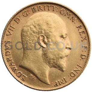 1903 Edward VII Gold Half Sovereign (Sydney Mint)